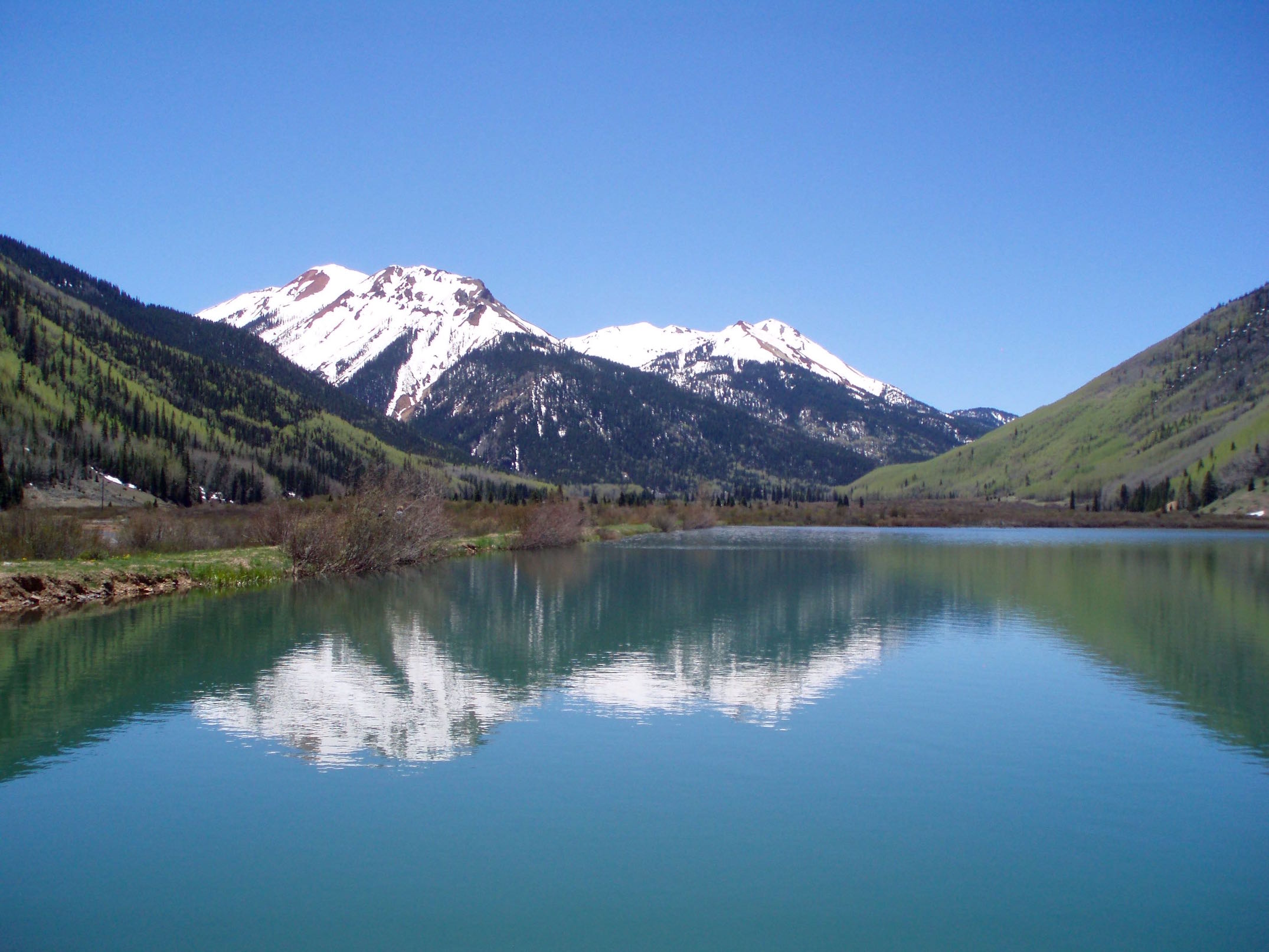 Pikes Peak Coffee >> Crystal Lake Near Ouray - Nomad Colorado